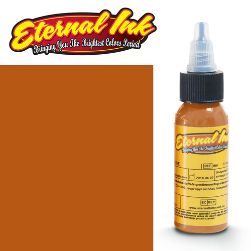 iTC Tattoo et Piercing - Encre ETERNAL, stérile, 1OZ/29ml TERRACOTTA