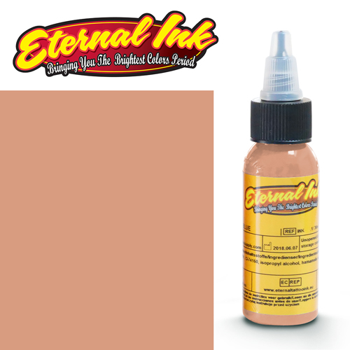 iTC Tattoo et Piercing - Encre ETERNAL, stérile, 1OZ/29ml WEATHERED LEATHER