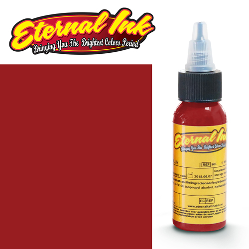 iTC Tattoo et Piercing - Encre ETERNAL, stérile, 1OZ/29ml DEVILISH RED