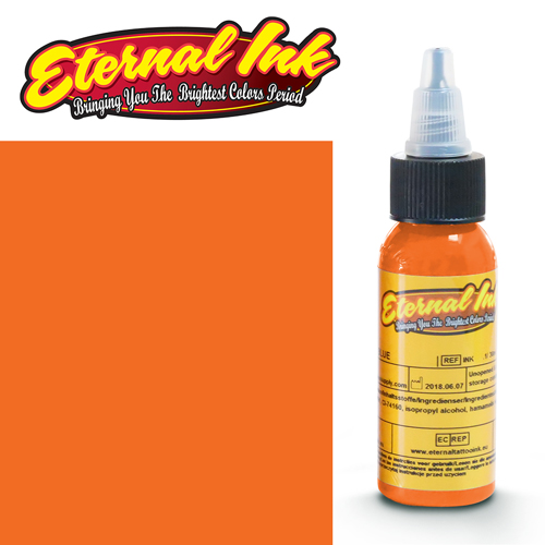 iTC Tattoo et Piercing - Encre ETERNAL, stérile, 1OZ/29ml HOT STEEL