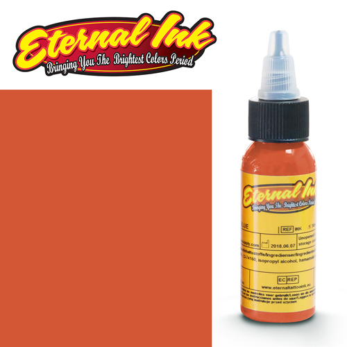 iTC Tattoo et Piercing - Encre ETERNAL, stérile, 1OZ/29ml FLAME ORANGE