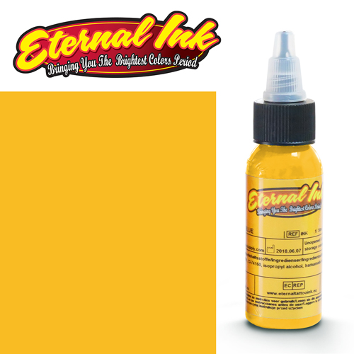 iTC Tattoo et Piercing - Encre ETERNAL, stérile, 1OZ/29ml SUNSHINE