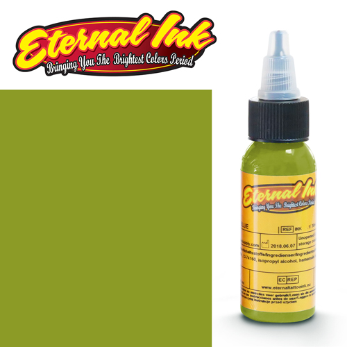 iTC Tattoo et Piercing - Encre ETERNAL, stérile, 1OZ/29ml WOODLANDS LIGHT