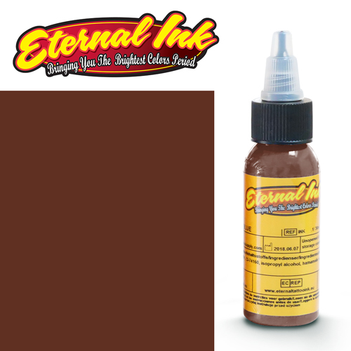 iTC Tattoo et Piercing - Encre ETERNAL, stérile, 1OZ/29ml DESERT DARK