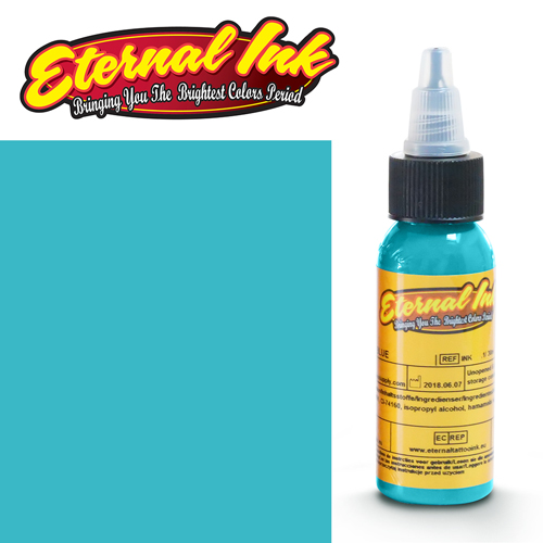 iTC Tattoo et Piercing - Encre ETERNAL, stérile, 1OZ/29ml OCEAN LIGHT