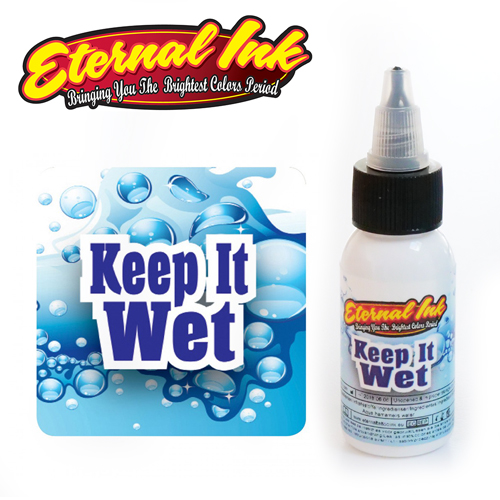 iTC Tattoo et Piercing - Encre ETERNAL, stérile, 1OZ/29ml Keep it wet