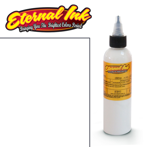 iTC Tattoo et Piercing - Encre ETERNAL, stérile, 4OZ/118ml WHITE
