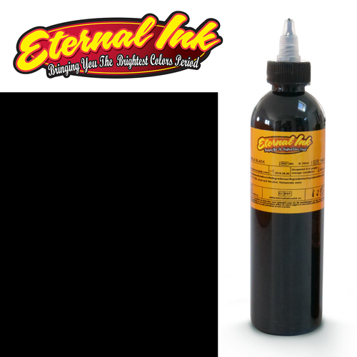 iTC Tattoo et Piercing - Encre ETERNAL, stérile, 8OZ/239ml TRIPLE BLACK