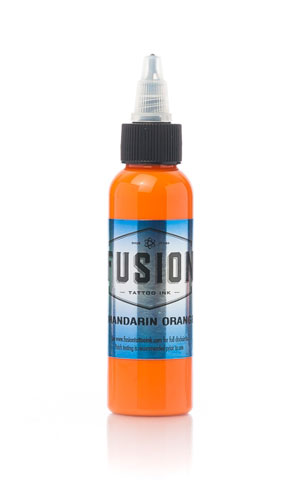 iTC Tattoo et Piercing - Encre FUSION, stérile, 30ml Mandarin Orange