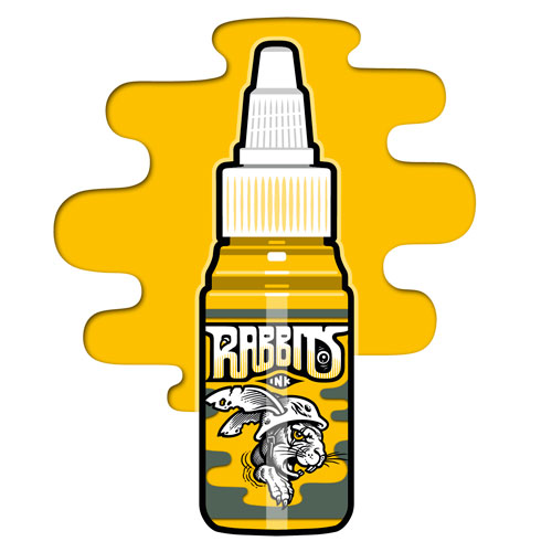 iTC Tattoo et Piercing - Encre RABBITS stérile 35 ml, coloris Autumn Sunshine