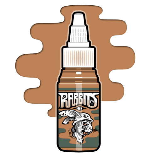 iTC Tattoo et Piercing - Encre RABBITS st�rile 35 ml, coloris Skin II