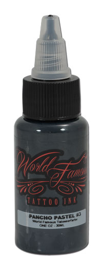 Encres stériles World Famous Ink, AD PANCHO Set 6 Gris 30ml - 0IW137