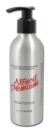 iTC Tattoo et Piercing - Gel de transfert vegan STENCIL PREMIUM ALOE TATTOO 220ml
