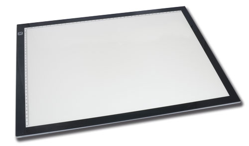 Tablette lumineuse à LED Format A3