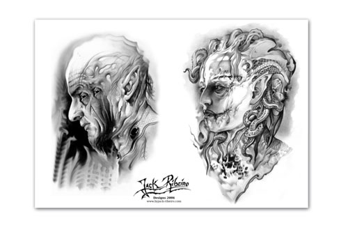 iTC Tattoo et Piercing - Flash tattoo JACK RIBEIRO, 2006, 7 A3