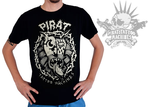 iTC Tattoo et Piercing - Tee-shirt PIRAT DEVIL design by L.Sokolowski  modèle Homme