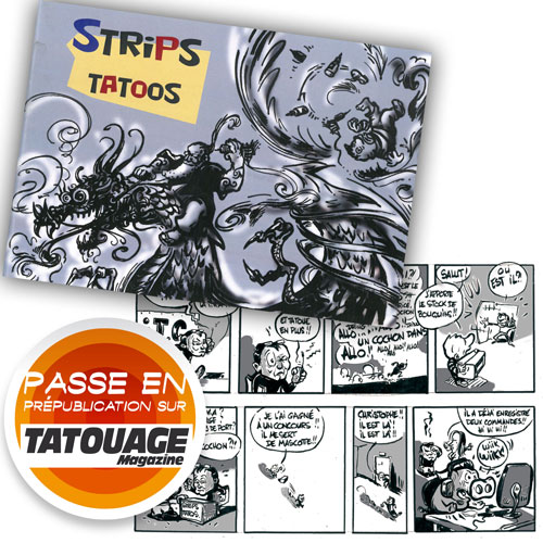Strips Tattoo by Niko Atelier - Mini BD 48 pages