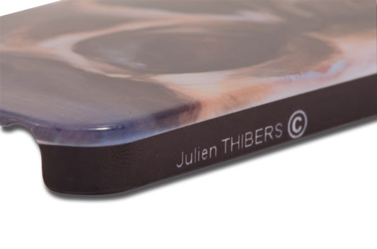 Coque Iphone 5 Julien THIBERS mod�le SKULL - 0TB06
