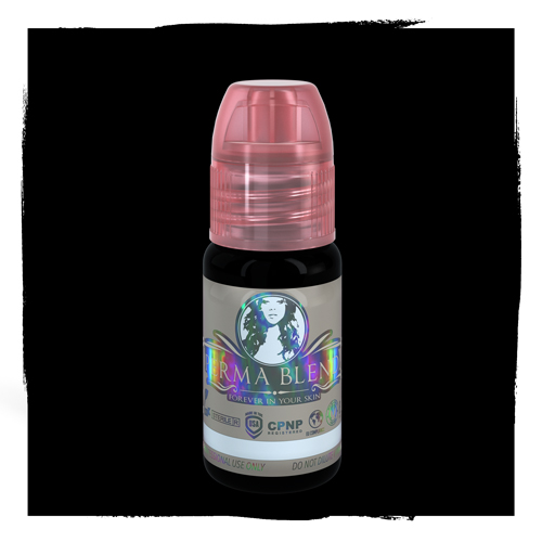 iTC Tattoo et Piercing - Pigment Stérile PERMA BLEND 15ml Double Black