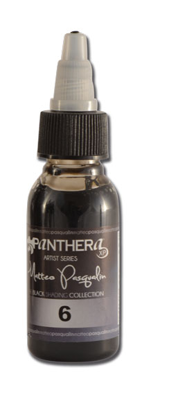 Encre PANTHERA stérile-Set de 8 nuances MATTEO PASQUALIN SHADERS 30ml - 0i886