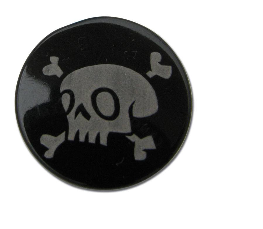 Plug acrylique motif lazer pirate