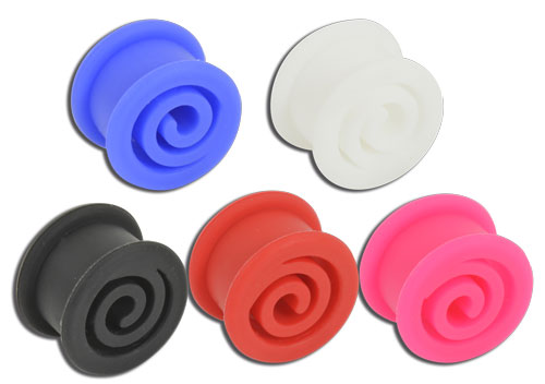 iTC Tattoo et Piercing - Tunnel souple silicone spirale