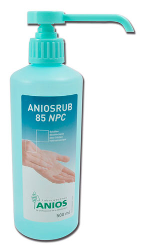 Solution hydroalcoolique ANIOSRUB 85 NPC 500ml- ANIOS