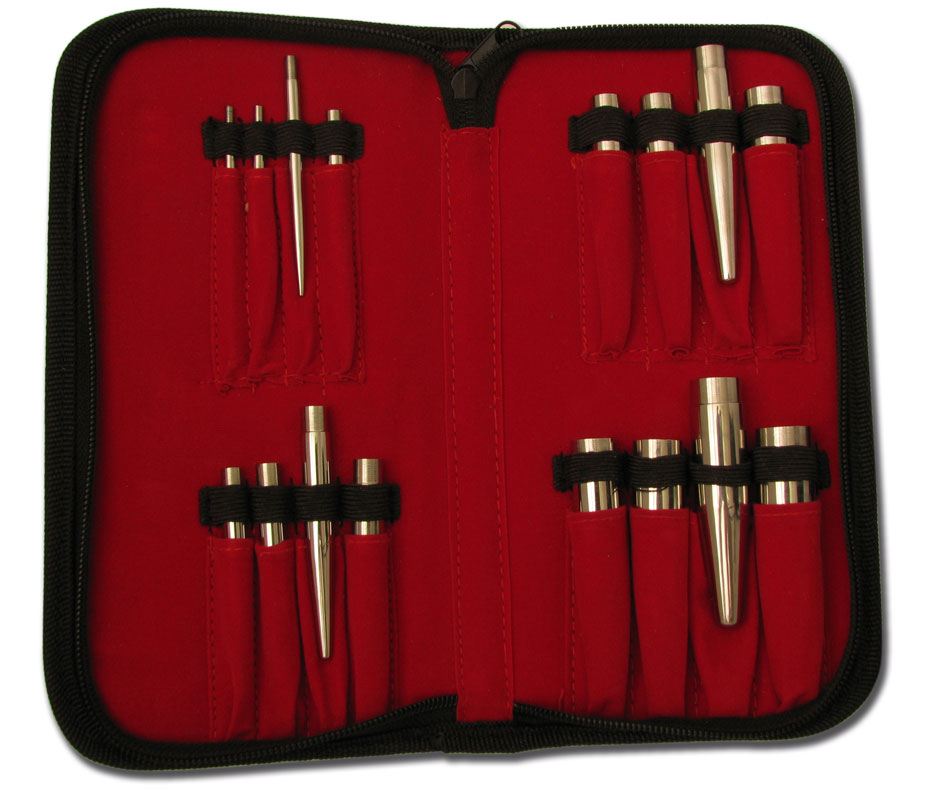 iTC Tattoo et Piercing - Pochette Kit tiges insertion 16 pièces de 3,5 à 18 mm