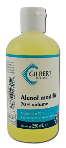 Alcool 70° Flacon de 250 ml PHY