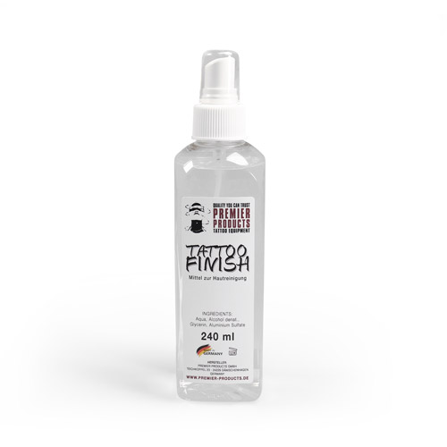 Spray fixateur TATTOO FINISH 240ml