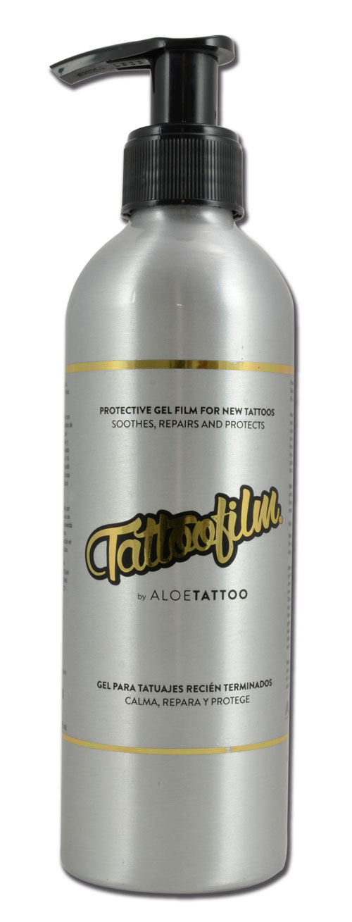 iTC Tattoo et Piercing - Tattoo film ALOE TATTOO avec pompe 225ml