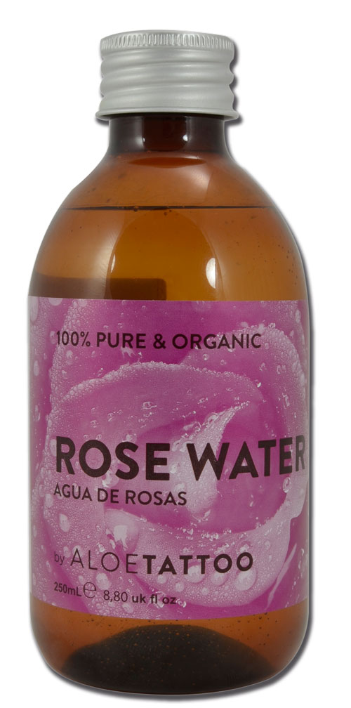 Eau de rose ALOE TATTOO 250ml