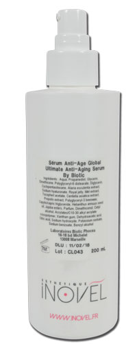 iTC Tattoo et Piercing - Sérum anti-âge global  By BIOTIC - 200ml