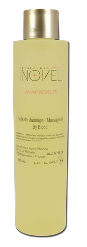 iTC Tattoo et Piercing - Huile de modelage  By BIOTIC - 200ml