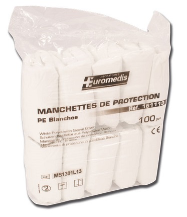 Manchettes de protection, lot de 100 - ZL004