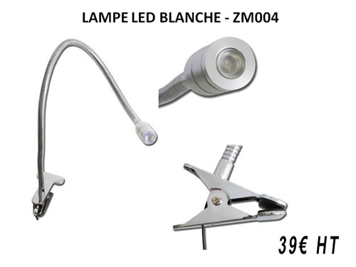 iTC Tattoo et Piercing - Lampe LED blanche alimentation USB et transformateur