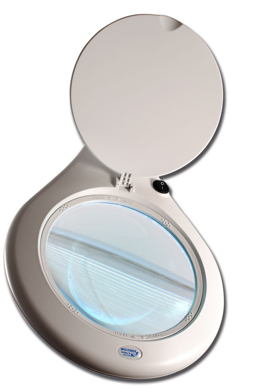 Lampe loupe avec 84 LEDS SMD blanches (17W) - ZM006
