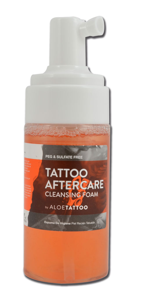 Tattoo aftercare en mousse ALOE TATTOO 125ml - ZP011