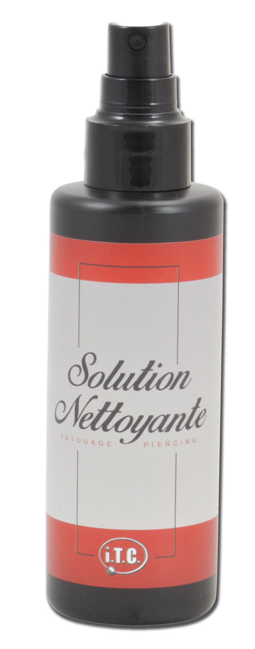 iTC Tattoo et Piercing - Solutions nettoyantes flacon de 125ml.