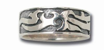 iTC Tattoo et Piercing - Bague argent massif n°59