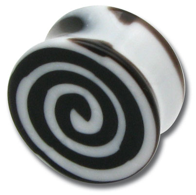 iTC Tattoo et Piercing - Cylindre acrylique �paul� Spirale