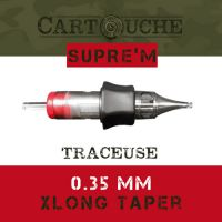 Cartouches SUPRE'M Traceuse RL Ø 0.35mm Xlong taper.