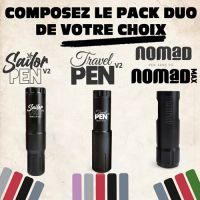 PACK DUO 1 : Travel Pen + Nomad
